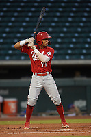 Sebastian Almonte (71) of the ACL Reds during a game against the ACL Cubs on September 17, 2021 at Sloan Park in Mesa, Arizona. (Tracy Proffitt/Four Seam Images)