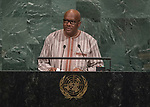 72 General Debate – 20 September <br /> <br /> His Excellency Roch Marc Christian Kaboré, President of Burkina Faso