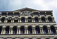 "New York City: Cast Iron District. Originally Cary Building, 1857, 105-107 Chambers St. King & Kellum.  ""Reflects the talents of John Kellum."" Photo '78."