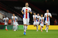 Luka Milivojevic of Crystal Palace leads his team out during AFC Bournemouth vs Crystal Palace, Carabao Cup Football at the Vitality Stadium on 15th September 2020