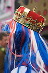 "Queen Elizabeth ii Diamond Jubilee fancy dress ball at the Chelsea Arts Club. ""A Night of a 1000 Queens""."