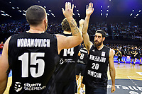 New Zealand Tall Blacks' Jordan Ngatai, FIBA World Cup Basketball Qualifier - NZ Tall Blacks v Syria at TSB Bank Arena, Wellington, New Zealand on Sunday 2 2018. <br /> Photo by Masanori Udagawa. <br /> www.photowellington.photoshelter.com