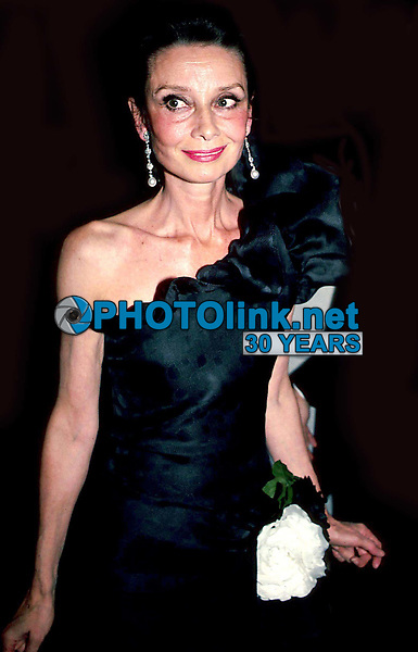 Audrey Hepburn 1980s<br /> Photo by Adam Scull/PHOTOlink