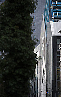 Blick auf das neue Paulinum am Augustusplatz in Leipzig - die Bauarbeiten an der Fassade nähern sich dem Ende - Uni Campus / Augusteum / Paulinum.  Foto: aif / Norman Rembarz..Jegliche kommerzielle wie redaktionelle Nutzung ist honorar- und mehrwertsteuerpflichtig! Persönlichkeitsrechte sind zu wahren. Es wird keine Haftung übernommen bei Verletzung von Rechten Dritter. Autoren-Nennung gem. §13 UrhGes. wird verlangt. Weitergabe an Dritte nur nach  vorheriger Absprache. Online-Nutzung ist separat kostenpflichtig..
