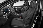 Front seat view of 2021 Mercedes Benz E-Class-Wagon E450-All-Terrain 5 Door Wagon Front Seat  car photos