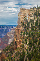 The varied hues of the Grand Canyon at Grand Canyon National Park, Arizona