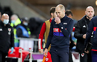 SWANSEA, WALES - NOVEMBER 12: United States head coach Gregg Berhalter during a game between Wales and USMNT at Liberty Stadium on November 12, 2020 in Swansea, Wales.