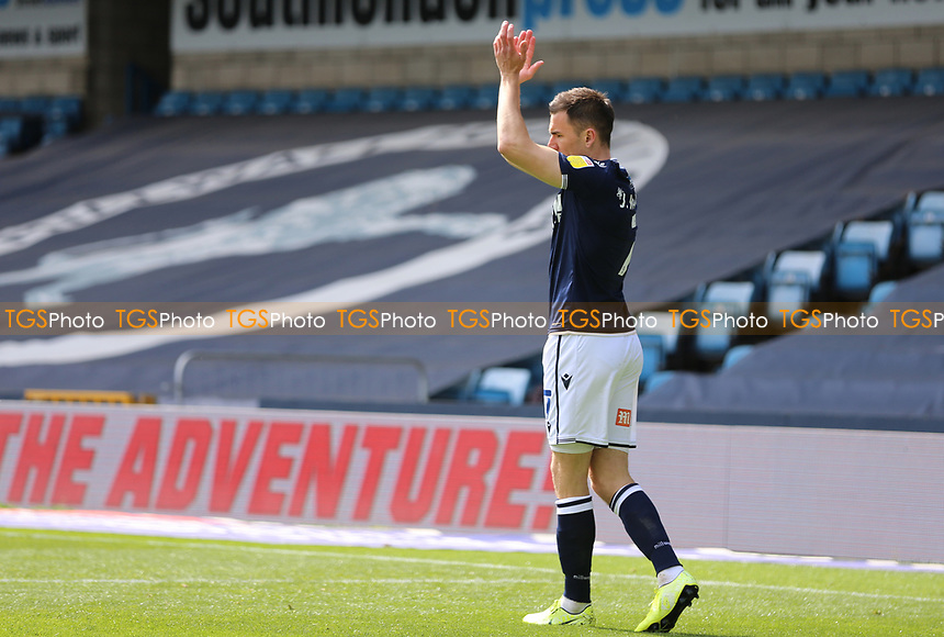 Jed Wallace of Millwall celebrates his first goal during Millwall vs Bristol City, Sky Bet EFL Championship Football at The Den on 1st May 2021