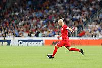 St. Paul, MN - Tuesday June 18, 2019: Michael Bradley of the United States during a 2019 CONCACAF Gold Cup group D match between the United States and Guyana on June 18, 2019 at Allianz Field in Saint Paul, Minnesota.