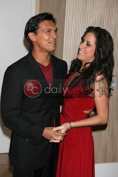 Adam Beach and wife Tara<br />at the Friends of the Los Angles Free Clinic Annual Dinner Gala. Beverly Hilton Hotel, Beverly Hills, CA. 11-20-06<br />Dave Edwards/DailyCeleb.com 818-249-4998