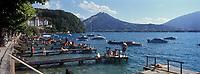 Europe/France/Rhône-Alpes/74/Haute-Savoie/Lac d'Annecy/Menthon-Saint-Bernard: Les bords du Lac d'Annecy et le Palace de Menthon