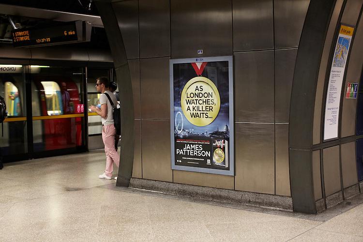 London adshell and backlit advertising hoardings