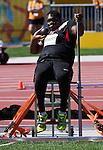 Jason Roberts, Toronto 2015 - Para Athletics // Para-athlétisme.<br /> Jason Roberts competes in the Men's Shot Put F32/33/34 // Jason Roberts participe au lancer du poids masculin F32/33/34. 12/08/2015.