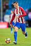 Fernando Torres of Atletico de Madrid in action during their La Liga match between Atletico de Madrid and Deportivo Leganes at the Vicente Calderón Stadium on 04 February 2017 in Madrid, Spain. Photo by Diego Gonzalez Souto / Power Sport Images