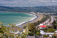 Napier, New Zealand, from Napier Bluff.