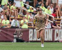 NEWTON, MA - MAY 22: Courtney Weeks #6 of Boston College on field portrait during NCAA Division I Women's Lacrosse Tournament quarterfinal round game between Notre Dame and Boston College at Newton Campus Lacrosse Field on May 22, 2021 in Newton, Massachusetts.