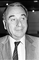 Anatole Dauman<br /> au Festival des Films du Monde , le 25 aout 1987<br /> <br /> PHOTO : Agence Quebec Presse
