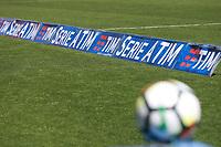 Pallone Serie A, Ball, Striscione TIM, banner<br /> Benevento 07-04-2018  Stadio Ciro Vigorito<br /> Football Campionato Serie A 2017/2018. <br /> Benevento - Juventus<br /> Foto Cesare Purini / Insidefoto