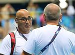James Hood, Rio 2016 - Para Swimming // Paranatation.<br /> Coach James Hood during Para Swimming competition // L'entraîneur James Hood pendant la compétition de paranatation. 08/09/2016.