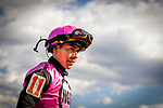 MAY 14, 2021: Jose Ortiz after winning the Pimlico Special aboard Last Judgement at Pimlico Racecourse in Baltimore, Maryland on May 14, 2021. EversEclipse Sportswire/CSM