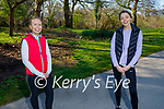 Enjoying a stroll in the Killarney National park on Saturday, l to r: Mary Teresa Moriarty and Louisa Howe.