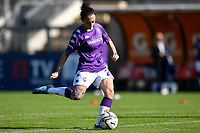 Michela Catena of ACF Fiorentina warms up during the women Serie A football match between AS Roma and ACF Fiorentina at Tre Fontane Stadium in Roma (Italy), November 7th, 2020. Photo Andrea Staccioli / Insidefoto