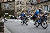 Alejandro Valverde (ESP/Movistar)<br /> <br /> Stage 4 from Redon to Fougéres (150.4km)<br /> 108th Tour de France 2021 (2.UWT)<br /> <br /> ©kramon