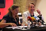 Academia del Cinema Catala.<br /> Presentació El Cicle Gaudi.<br /> Isona Passola & Juanjo Puigcorbe.
