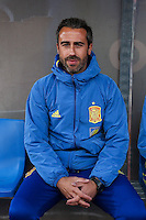 Spain's coach Jorge Vilda during the match of  European Women's Championship 2017 at Las Rozas, between Spain and Montenegro. September 15, 2016. (ALTERPHOTOS/Rodrigo Jimenez) /NORTEPHOTO