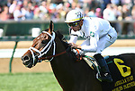 30 April 2010: Doubles Partner and Garrett Gomez win the American Turf Stakes at Churchill Downs, Louisville, KY.