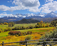 Fall Color in Colorado, near Telluride
