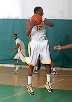 April 8, 2011 - Hampton, VA. USA; Jamar Morris participates in the 2011 Elite Youth Basketball League at the Boo Williams Sports Complex. Photo/Andrew Shurtleff