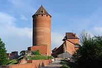 Bischofsburg Turaida von 1214, Lettland, Europa