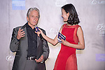 Michael Douglas at the Red Carpet event at the World Celebrity Pro-Am 2016 Mission Hills China Golf Tournament on 20 October 2016, in Haikou, China. Photo by Marcio Machado / Power Sport Images
