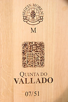 barrel with stamp seguin moreau quinta do vallado douro portugal