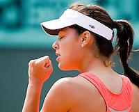 1-6-08, France,Paris, Tennis, Roland Garros, Ana Ivanovic