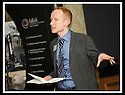 """09/10/2008  Copyright Pic: James Stewart.File Name : 20_fcpp.FALKIRK COMMUNITY PLANNING PARTNERSHIP CONFERENCE :: """"STRONGER TOGETHER"""".STEVEN MARWICK, DIRECTOR, EVALUATION SUPPORT SCOTLAND, ADDRESSES THE CONFERENCE.....James Stewart Photo Agency 19 Carronlea Drive, Falkirk. FK2 8DN      Vat Reg No. 607 6932 25.Studio      : +44 (0)1324 611191 .Mobile      : +44 (0)7721 416997.E-mail  :  jim@jspa.co.uk.If you require further information then contact Jim Stewart on any of the numbers above........"""