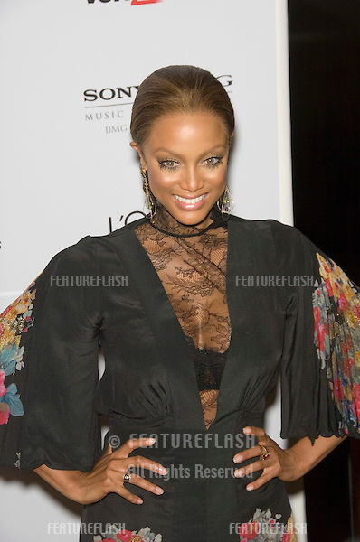 TYRA BANKS at the Clive Davis pre-Grammy Party at the Beverly Hilton Hotel..February 11, 2007  Beverly Hills, CA.Picture: Paul Smith / Featureflash