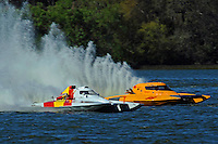 Tom Vielhauer, H-11 and Paul Barber, H-66 (H350 Hydro)