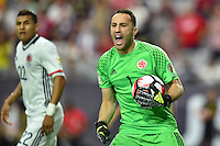 Glendale, AZ - Saturday June 25, 2016: David Ospina during a Copa America Centenario third place match match between United States (USA) and Colombia (COL) at University of Phoenix Stadium.