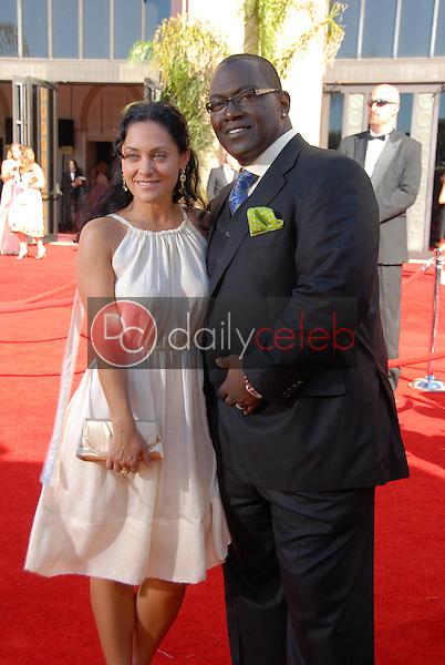 Randy Jackson and guest<br />arriving at the 58th Annual Primetime Emmy Awards. The Shrine Auditorium, Los Angeles, CA. 08-27-06<br />Scott Kirkland/DailyCeleb.com 818-249-4998