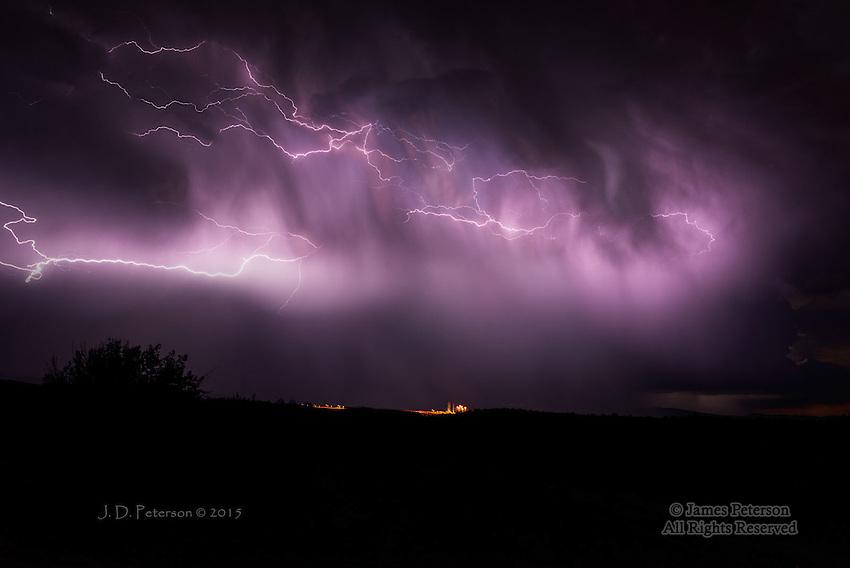 Thunderstorm over Verde Valley, Arizona