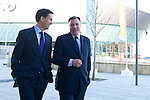 Ed Milliband & Ed Balls at Labour Party Conference, Liverpool 2011