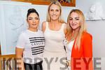 Caroline Kelly, Shona O'Brien and Norma Flynn enjoying the evening in Bella Bia on Friday.