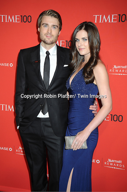 Pete Cashmore and date attends The Time 100 Most Influential People in the World Gala on April 24, 2012 at Frederick P Rose Hall at Lincoln Center in New York City. .