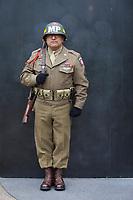 US Army Veteran, Memorial Day, World War II Memorial, Olympia, WA, USA.