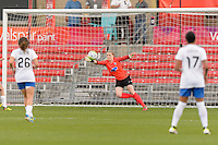 Bridgeview, IL - Saturday June 18, 2016: Libby Stout during a regular season National Women's Soccer League (NWSL) match between the Chicago Red Stars and the Boston Breakers at Toyota Park.