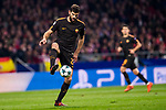 Radha Nainggolan of AS Roma runs with the ball during the UEFA Champions League 2017-18 match between Atletico de Madrid and AS Roma at Wanda Metropolitano on 22 November 2017 in Madrid, Spain. Photo by Diego Gonzalez / Power Sport Images