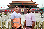 """***  Exclusive Photo  ***  ---   <br /><br />July 29, 2013, Beijing,China ---   """"Tiananmen Square """" ---  Superstar Manny Pacquiao (R) and former world champion Brandon """"Bam Bam"""" Rios (L) make a revolutionary promotional appearance at the infamous Tiananmen Square, Monday in the center of Beijing,China.  <br />   Pacquiao and Rios are in town for a Tuesday press conference to announce their upcoming mega fight in November. Both fighters are making a stop in Beijing as part of their world-wide media tour which will also include stops in Shanghai, Singapore, New York and finally ending up in Los Angeles. Pacquiao vs Rios will battle on Sunday, November 24 from The Venetian Macao Resort in Macau,China and will be televised live in the US, Sunday Nov. 23, 9pm ET/6pm PT on HBO Pay-Per-View.  --- Photo Credit : Chris Farina - Top Rank (no other credit allowed) copyright 2013"""