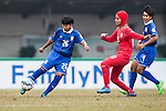 Thailand plays against Iran during the AFC U-16 Women's Championship China 2015 Group A match at the Hankou Culture & Sports Centre Stadium on 04 November 2015 in Wuhan, China. Photo by Aitor Alcalde / Power Sport Images